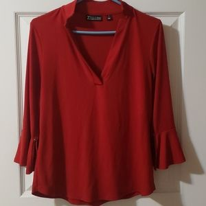 New York and Company Red Blouse